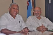 Extensive support to Bainimarama's candidacy